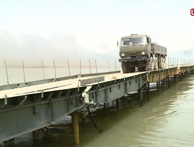 Мост через Евфрат в Сирии
