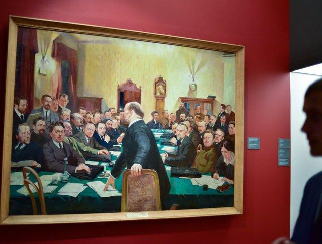 Историко-документальная выставка о Ленине