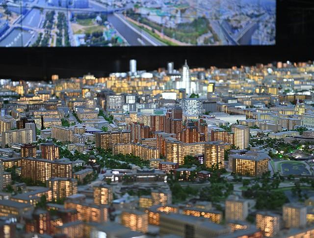 Интерактивный макет Москвы на ВДНХ