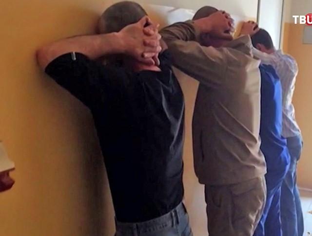 Задержанные жители Чечни