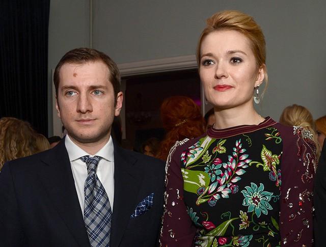 Актриса Надежда Михалкова и режиссер Резо Гигинеишвил
