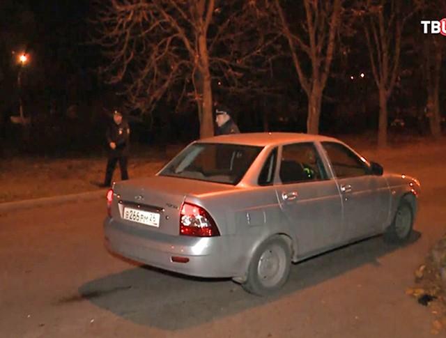 Место нападения в Ессентуках