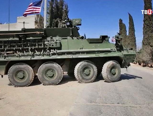 Военная техника США на территории Сирии