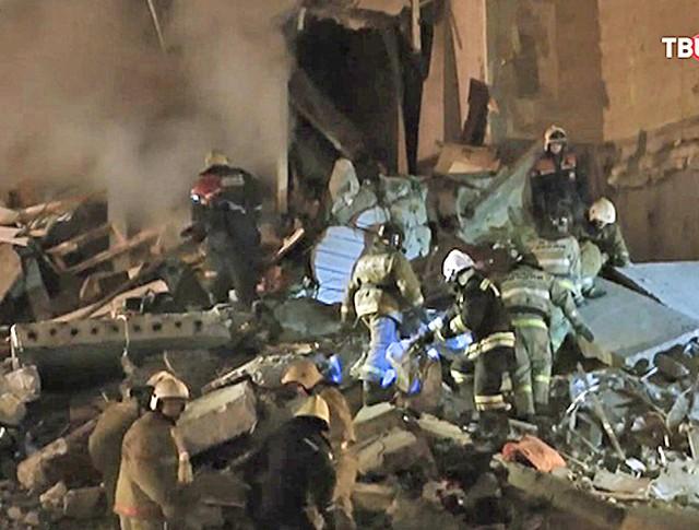 Взрыв газа в Ижевске