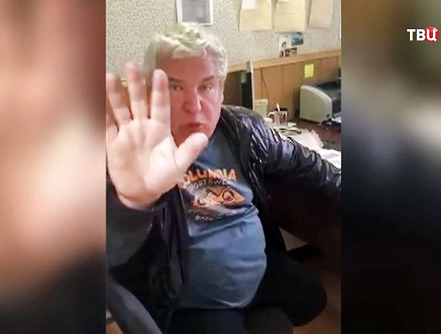Пьяный судья Александр Гудкин