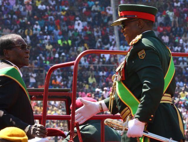 Военные Зимбабве и Роберт Мугабе