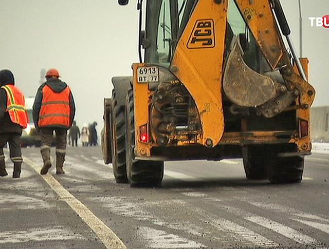 Реконструкция Калужского шоссе