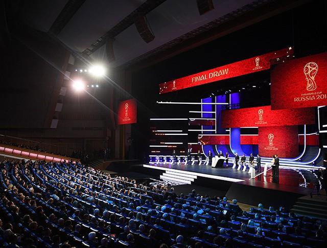 Церемония официальной жеребьевки чемпионата мира по футболу 2018