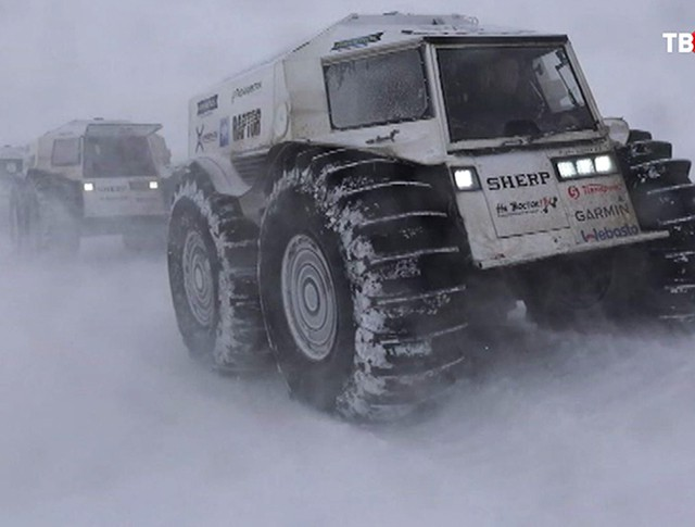 """Российские внедорожники """"Шерп"""""""