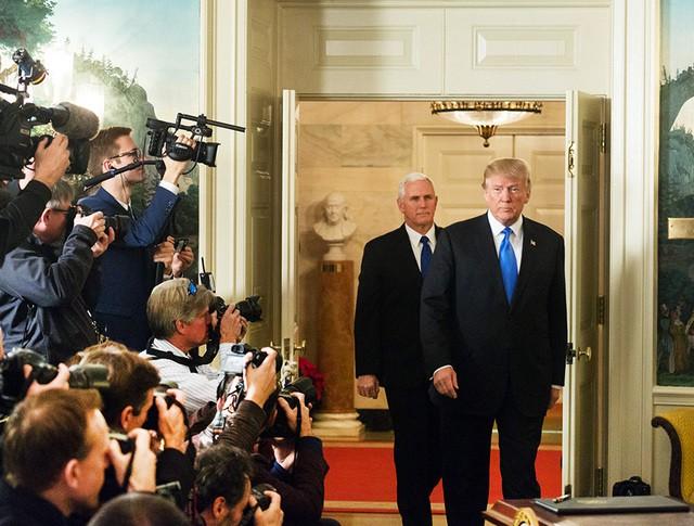 Дональд Трамп и Майкл Пенс