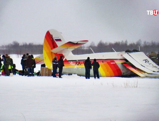 Место падения самолета Ан-2
