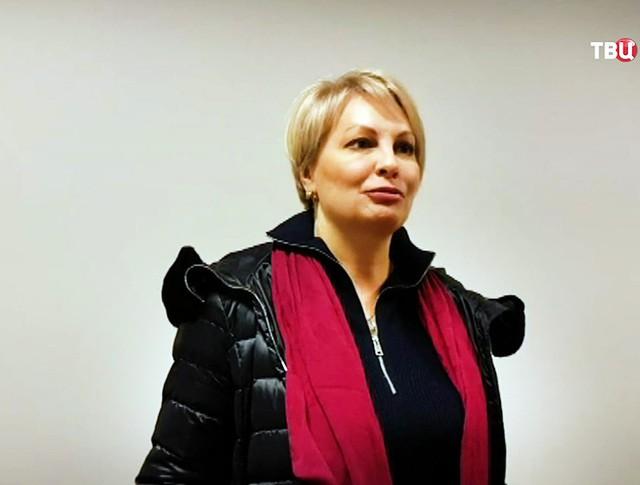 Журналистка Ольга Курлаева