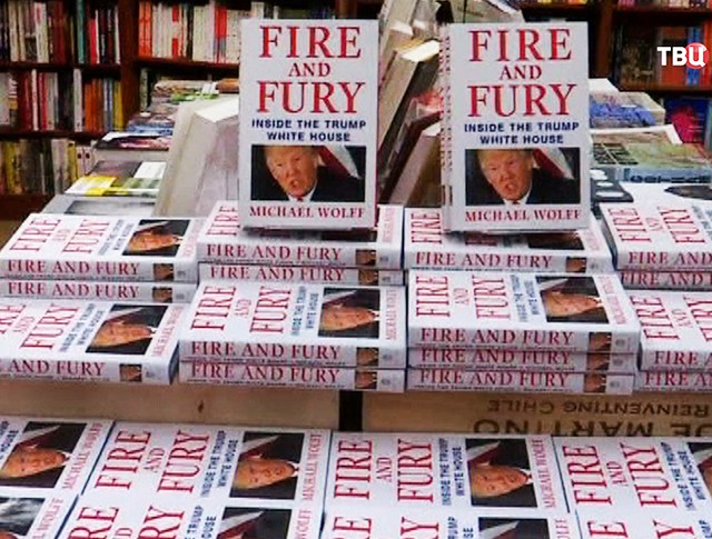 """Книга о Дональде Трампе """"Огонь и ярость: внутри Белого Дома"""""""