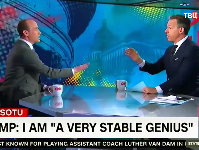 Эфир телеканала CNN
