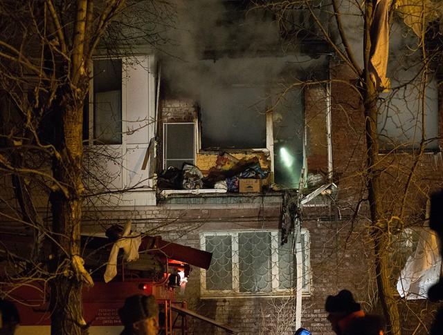 Взрыв бытового газа в жилом доме в Омске