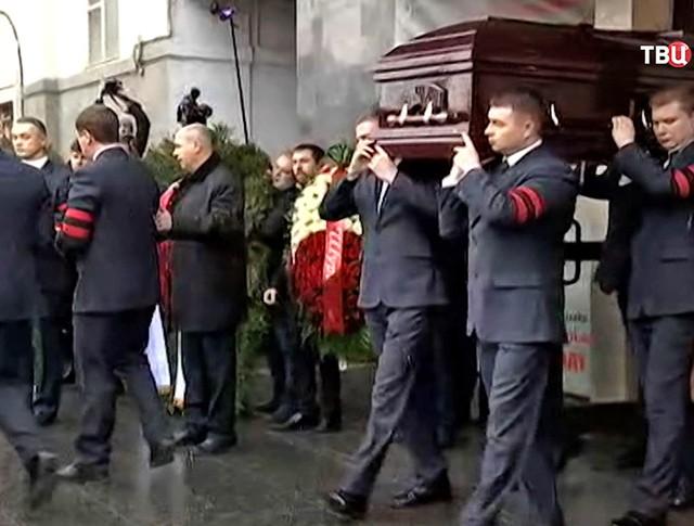 Церемония прощания с актером Михаилом Державиным