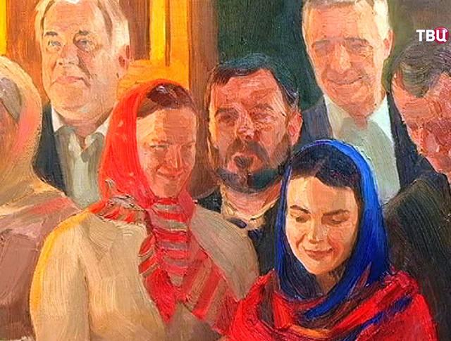 Во Франции открылась российская художественная выставка