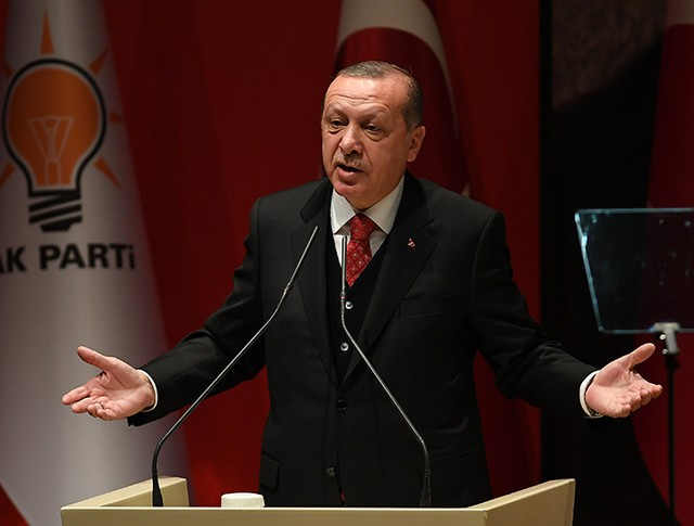 Президент Турции Реджеп Эрдоган