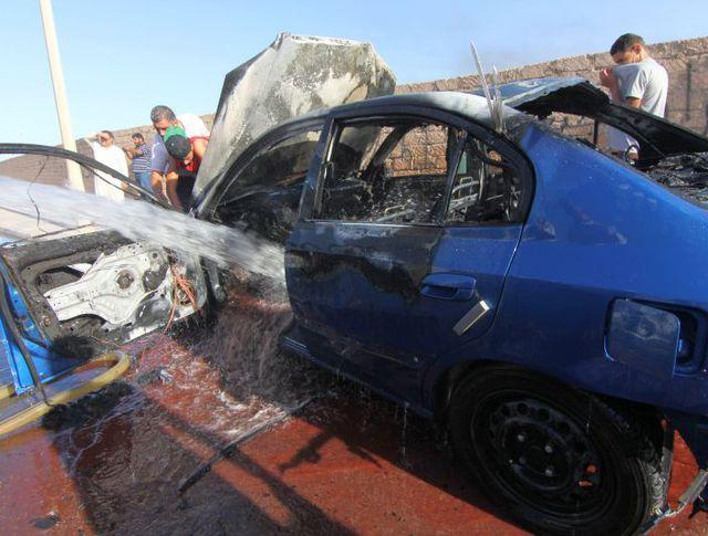 На месте теракта в Бенгази