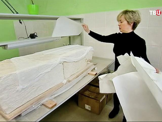 Восстановление археологических находок в Крыму
