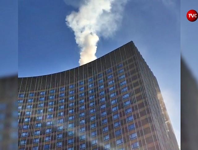 """Пожар в гостинице """"Космос"""""""