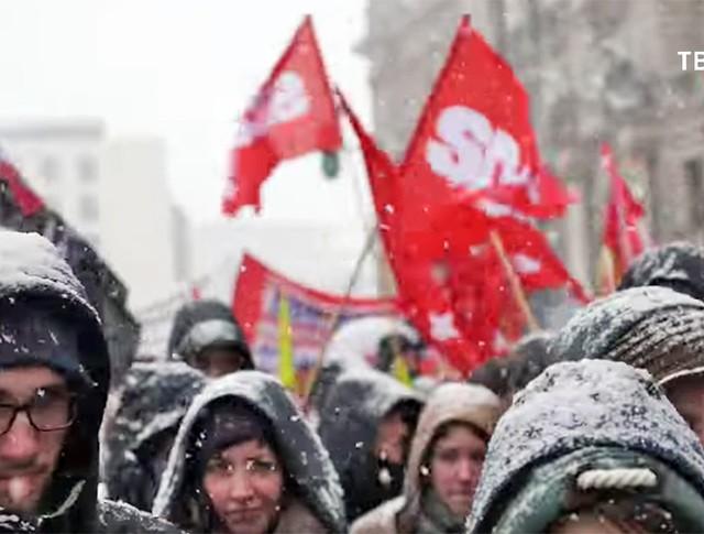 Митинг анархистов