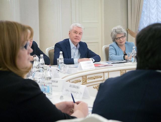 Сергей Собянин встретился с представителями образовательного сообщества
