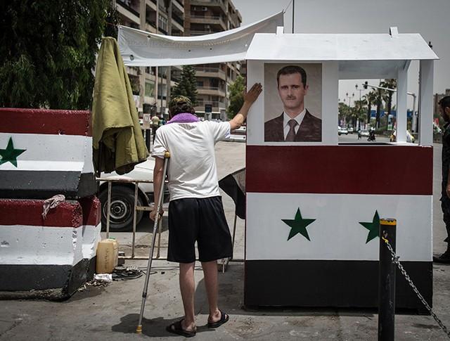 Блокпост сирийских войск