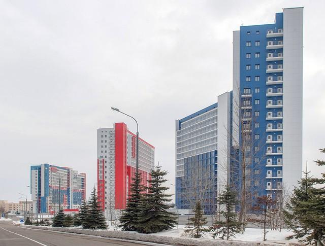 Новые общежития для сотрудников Росгвардии