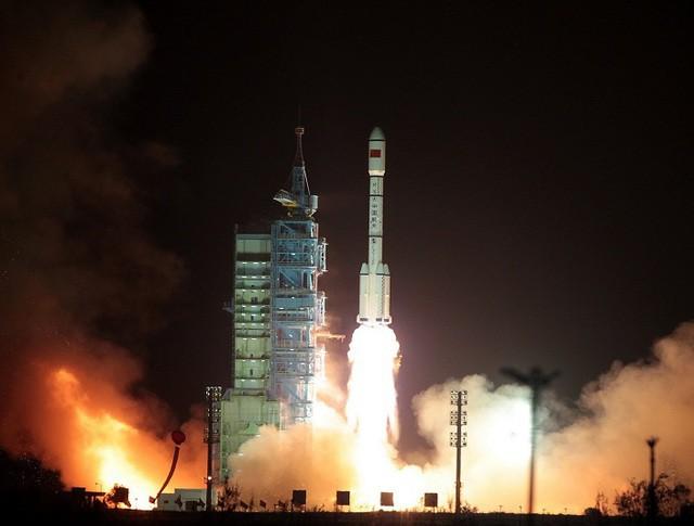 """Запуск первой китайской космической лаборатории """"Тяньгун-1"""""""