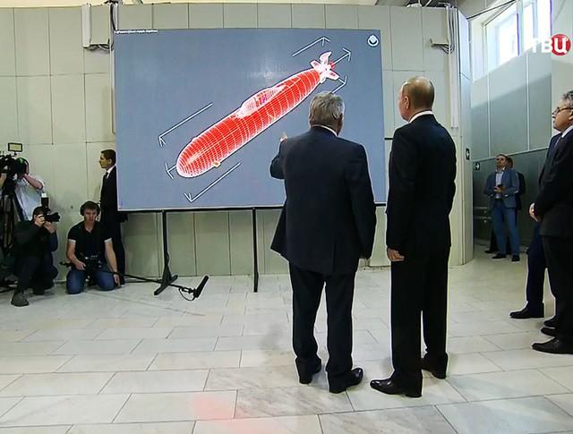 Владимир Путин посетил Курчатовский институт