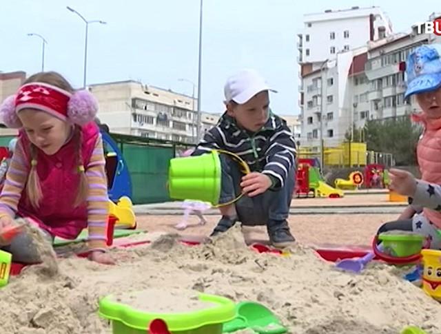 Открытие детского сада в Севастополе