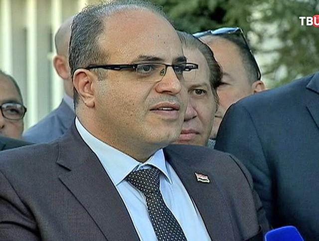 Самер Халиль, министр экономики и внешней торговли Сирии