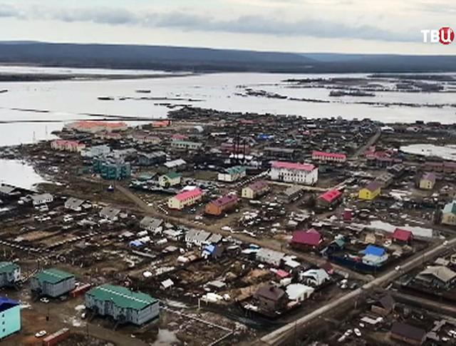 Весенние паводки в Якутии