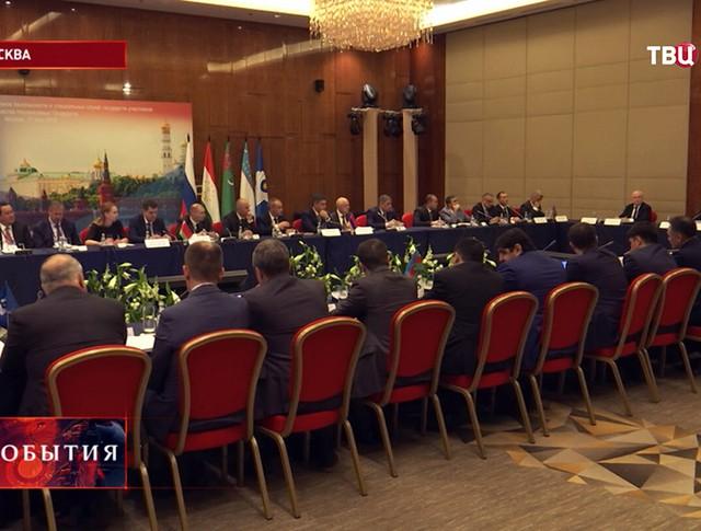 Заседание Совета руководителей органов безопасности и специальных служб стран СНГ