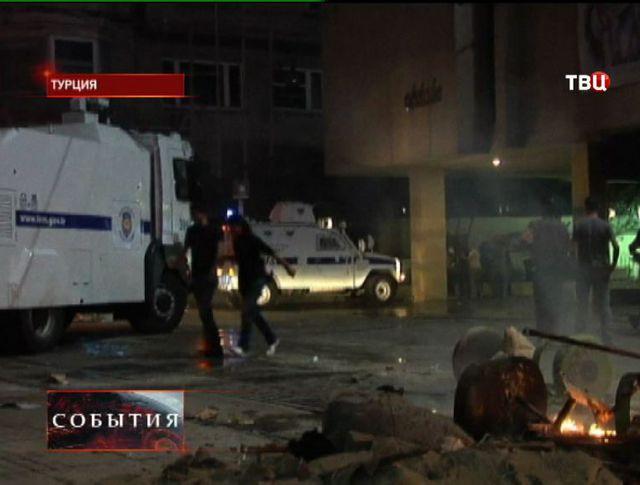 В Анкаре продолжаются столкновения с полицией