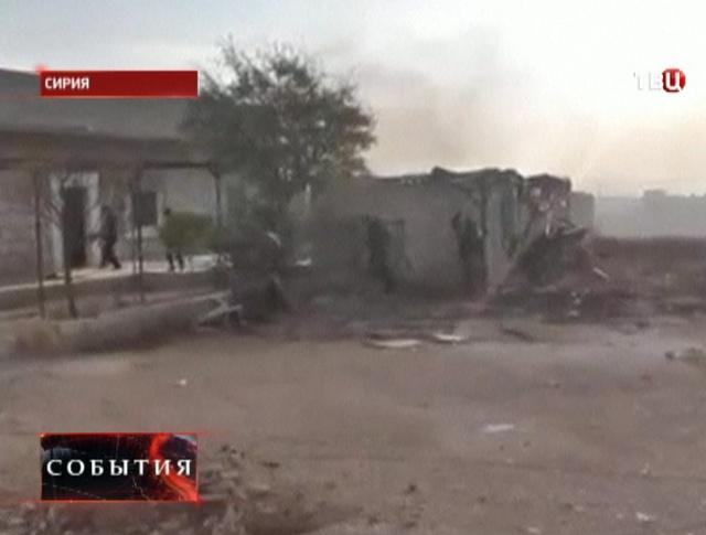 В Сирии взорвалась мина