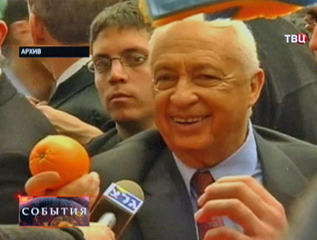 Бывший премьер-министр Израиля Ариэль Шарон