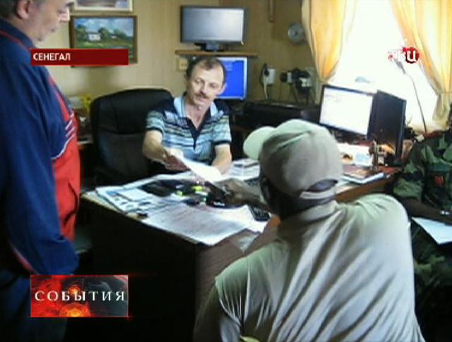 """Капитан рыболовецкого судна """"Олег Найденов"""" Вадим Манторов"""