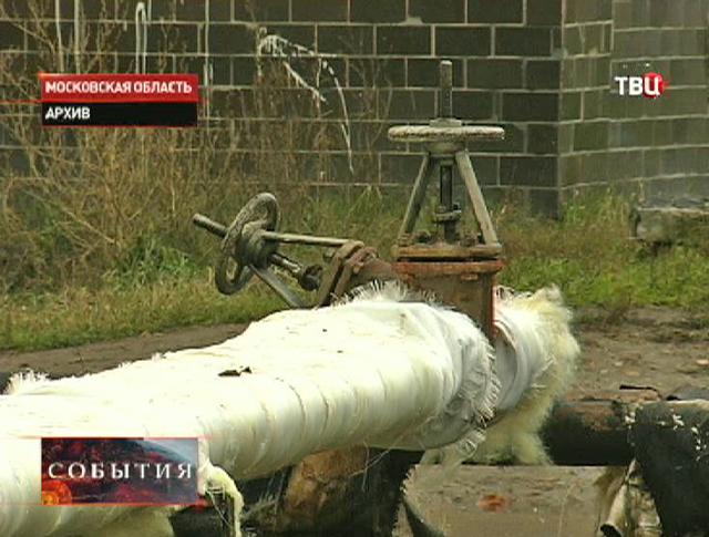 Трубопровод в Балашихе