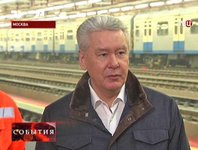 """Сергей Собянин на открытии электродепо """"Братеево"""""""