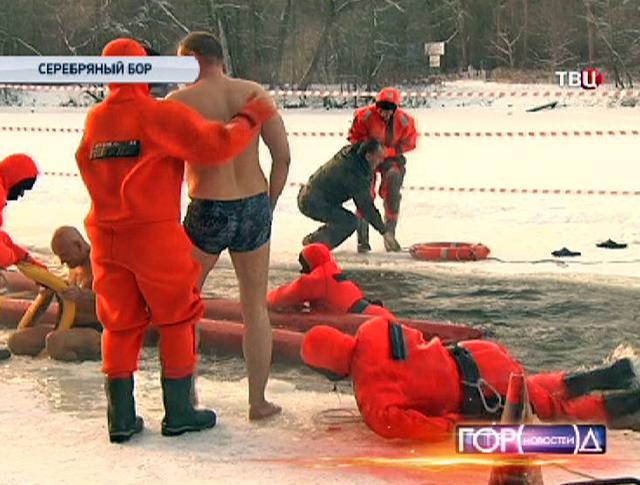 Учения спасателей МЧС