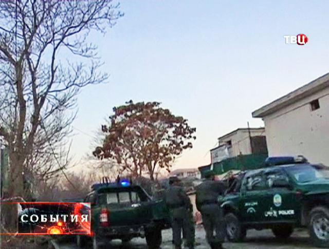 Полиция в Кабуле