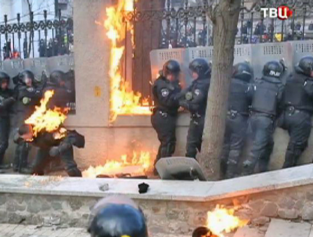 Столкновения на Украине
