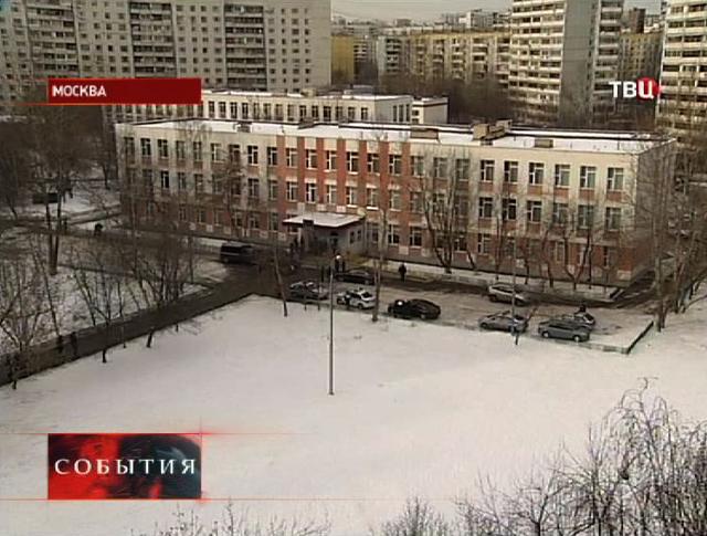 Здание захваченной школы №263 в Отрадном
