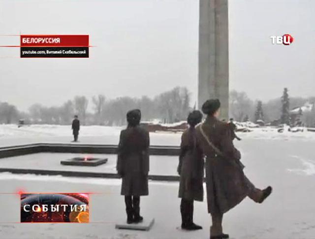 """Почетный караул у мемориального комплекса """"Брестская крепость"""""""