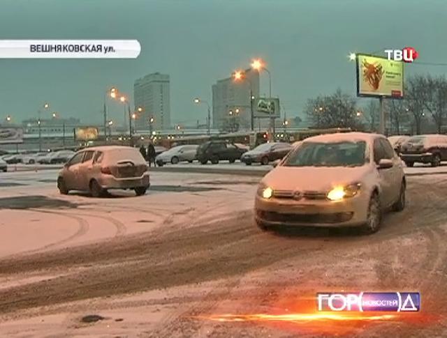 """Новая перехватывающая парковка возле метро """"Выхино"""""""