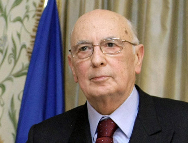 Президент Италии Джорджио Наполитано