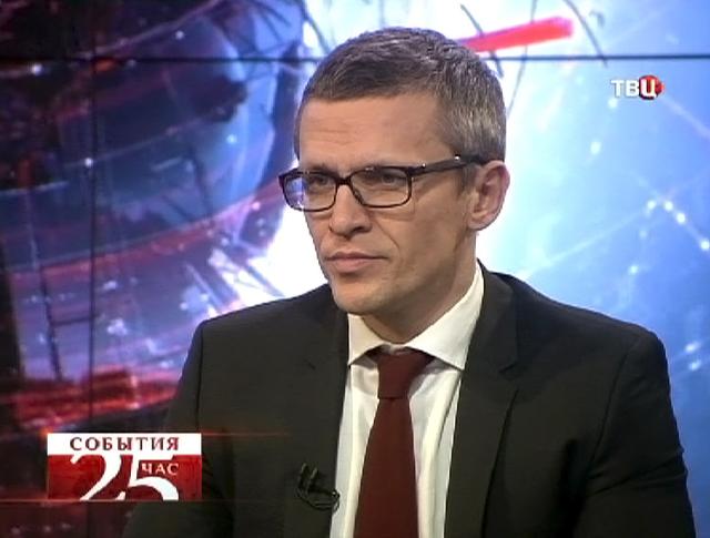 Руководитель городского департамента информационных технологий Артём Ермолаев