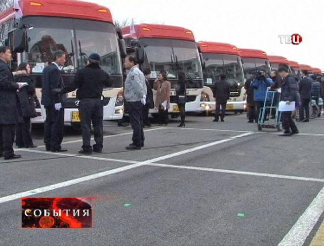 Организация встречи родственников в Корее